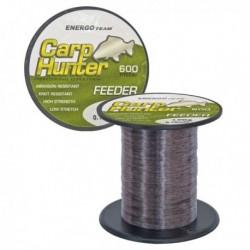 Fir Monofilament Carp Hunter Feeder, Rezistenta 5.2 kg, 600 m, 0.20 mm, Gri