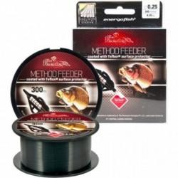 Fir Monofilament Carp Expert Method Feeder Teflon, Rezistenta 11.4 kg, 300 m, 0.30 mm, Verde