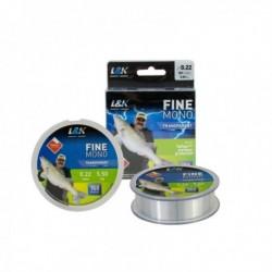 Fir Textil L&k Fine Mono 0,22mm 150m Transparent 5,5 kg