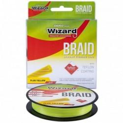 Fir Textil EnergoTeam Wizard Braid, Rezistenta 9.1 kg, 135 m, 0.10 mm, Galben