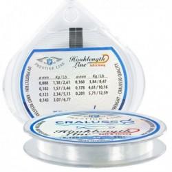 Fir Monofilament Cralusso Hooklength Line Soft & Strong, Transparent, 50m, 0.12mm 2.34kg