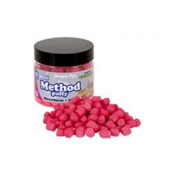 Pufarin Flotant Benzar Mix Method Puffy, Maxi, 180 ml, Capsuni/Krill, fluo pink