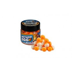 Pop Up Benzar Method Egg Bicolor, 8mm, 30 ml/borcan, Mango Chocolate
