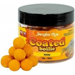 Boilies de Carlig Glazurat Benzar Mix Coated, 14mm, 150 ml, Miere