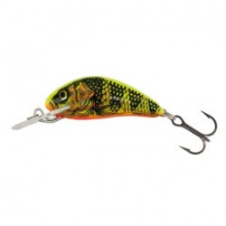 Vobler Salmo Hornet Sinking H3F, Scufundator, 3.5 cm 2.6 g, Ancora Nr.10, Culoare GFP