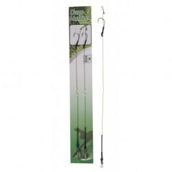 Carlige legate (montura) Carp Hunter Long Shank Boilie Rig, Nr.2, Textil, 2 Buc/Plic