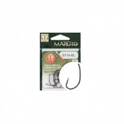Carlige Maruto Hc 8714 Bl Barbless, Nr. 4, Tip Ochet, 10 Buc/Plic