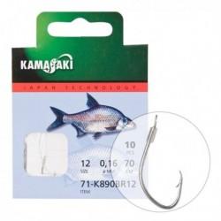 Carlige Legate Kamasaki K890Br Nr 10, Nickel, 10Buc/Plic
