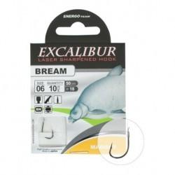 Carlige Legate Excalibur Bream Maggot Black Nickel Nr 12 (10Buc/Plic)