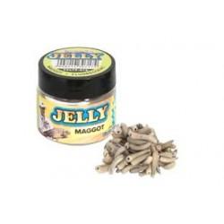 Momeli Artificiale Benzar Mix Jelly Baits, 30 ml/cutie Maggot Fluo