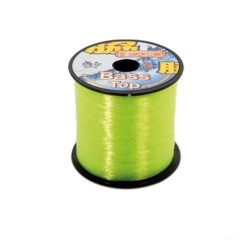Fir Monofilament Lineaeffe Bass Top, Rezistenta 3.6 kg, 1500 m, 0.20 mm, Galben