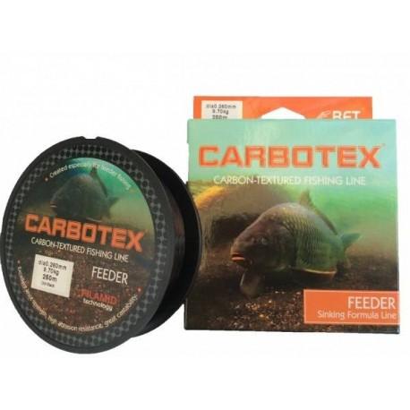 Fir Monofilament Carbotex Feeder Dm, Rezistenta 8.5 kg, 250 m, 0.24 mm, Negru