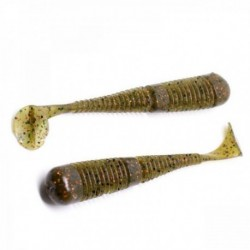 Swimbait Fanatik Boxer 2 50Mm 006 Green Pumpkin Brown, 10Buc/Plic