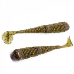 Swimbait Fanatik Boxer 3 75Mm 006 Green Pumpkin Brown, 8Buc/Plic