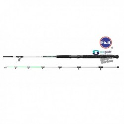 Lanseta Dam Madcat White Clonk Teaser 1.8 m 100-150 gr, 2 Tronsoane