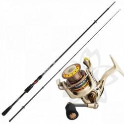 Kit Lanseta Sakura Silver Arrow Spinning SIAS 8112MH 2.70m 10-35gr - Mulineta Sakura Lomax 4004 FD