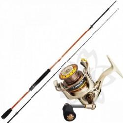 Kit Lanseta Sakura Speciz Spinning SPZS 862MH 2.58m 15-45gr PIKE GAME - Mulineta Sakura Lomax 4004 FD