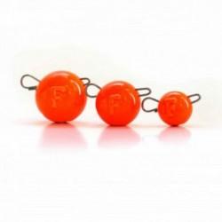 Cap Jig Articulat Fanatik Cheburashka 5Gr Orange, 5Buc/Plic