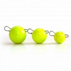Cap Jig Articulat Fanatik Cheburashka 3Gr Yellow, 5Buc/Plic