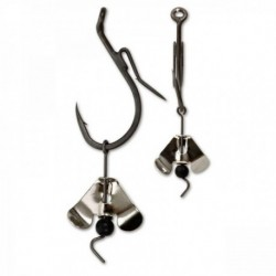 Carlig Somn Black Cat 5/0 Buzzer Hook Silver