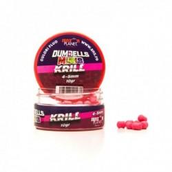 Pop Up Senzor Planet Dumbells Minis, Krill, Roz, 4-5 mm, 10 gr