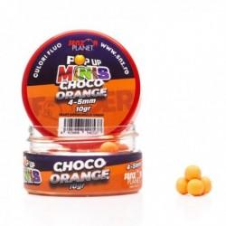 Pop Up Senzor Planet Minis, Ciocolata/Portocale, Portocaliu, 4-5 mm, 10 gr
