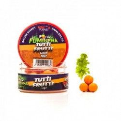 Pop Up Senzor Planet Dumbells Method Feeder, Tutti Frutti, Portocaliu, 6 mm, 10 gr