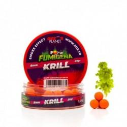 Pop Up Senzor Planet Fumigena, Krill, Rosu, 8 mm, 25 gr